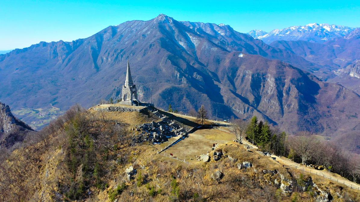 Monte Cimone di Tonezza: sulle tracce della Grande Guerra