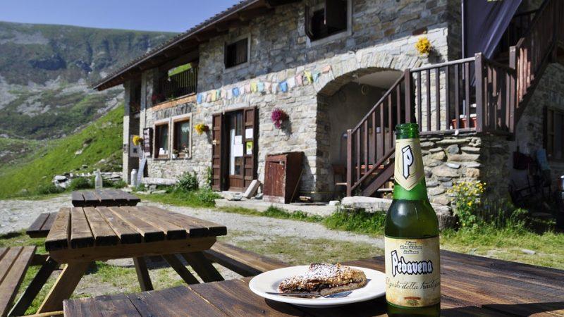 birra in montagna