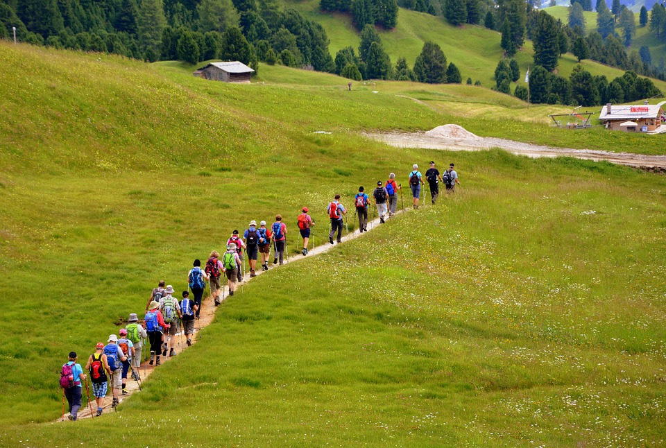 escursione gruppo
