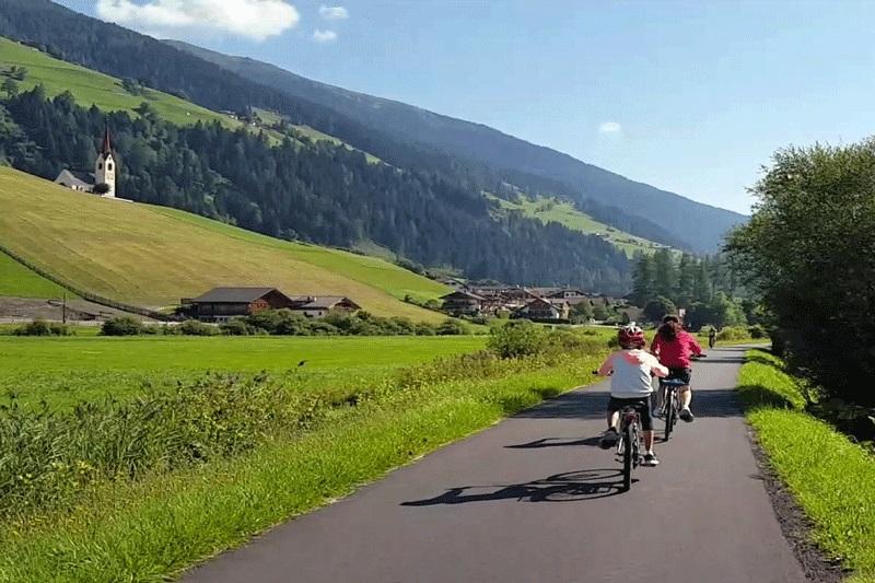 Ciclabile Dobbiacco-Lienz in Val Pusteria