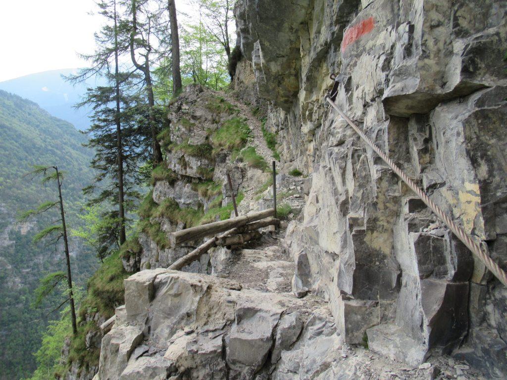sentiero attrezzato