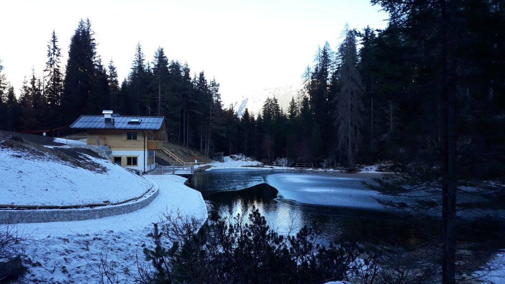 rifugio lago d'aial