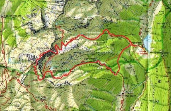 cartina lago calaita