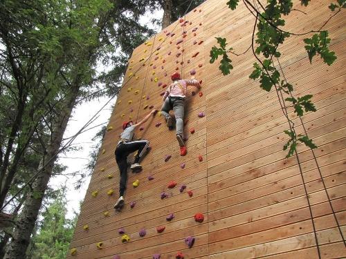 struttura artificiale arrampicata