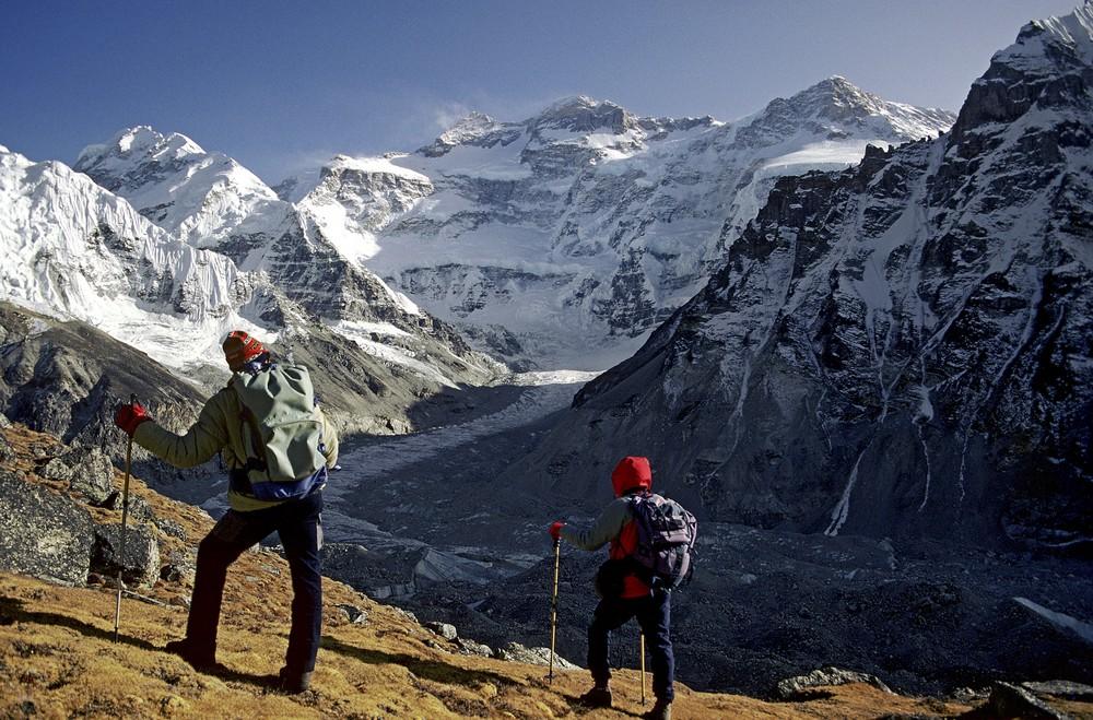 ttekking campo base kanchenjunga