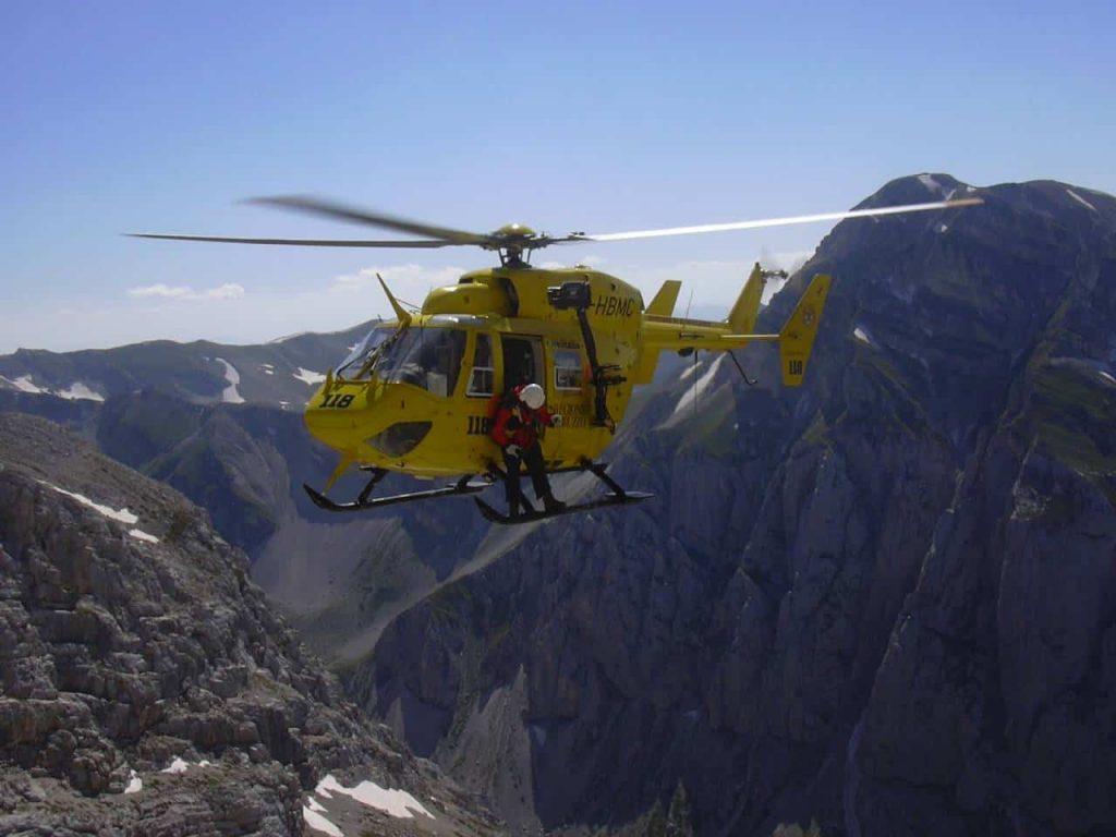 intervento soccorso alpino