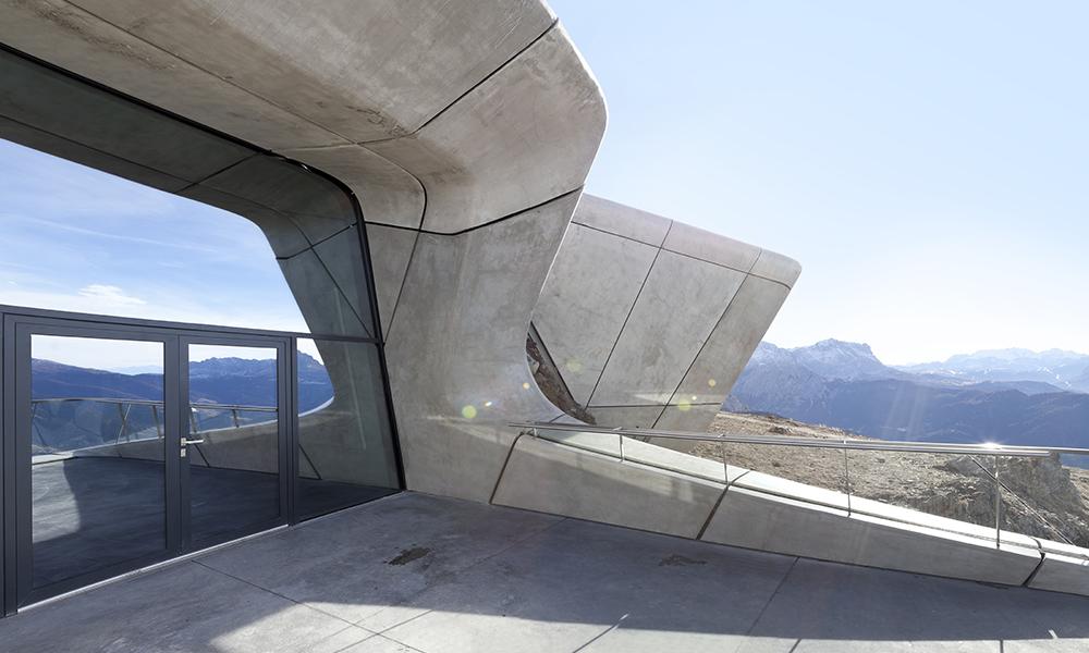 Messner Mountain Museum: la montagna diventa museo