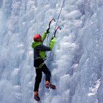 attrezzatura cascate di ghiaccio