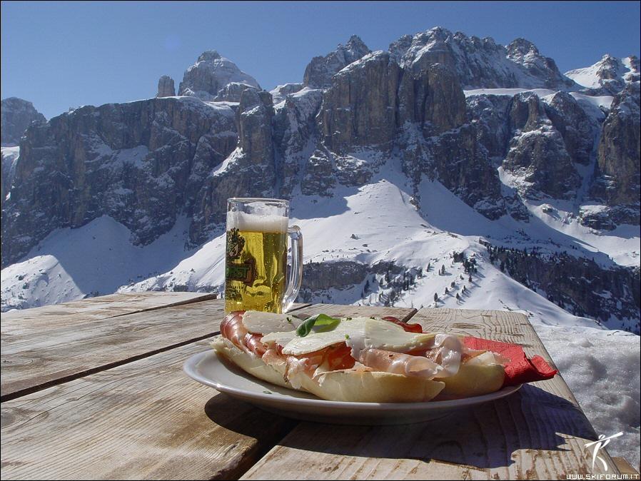 birra in montagna alimentazione