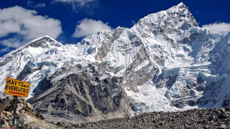 trekking campo base everest nepal