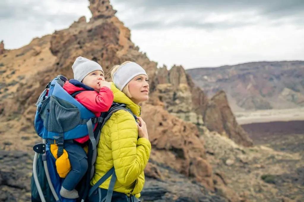 Migliori zaini porta bambino per le passeggiate in montagna