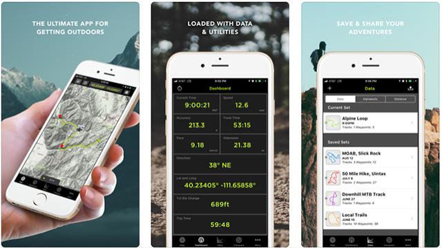 gps kit app smartphone