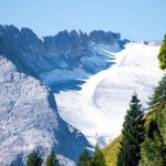 marmolada ghiacciaio scioglimento